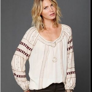 Free People Beaded Wavelengths Tunic